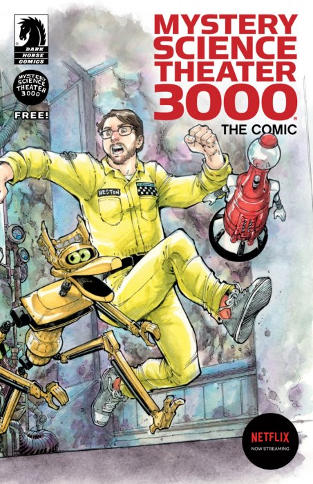 Mystery Science Theater 3000 The Comics Ashcan Edition #1