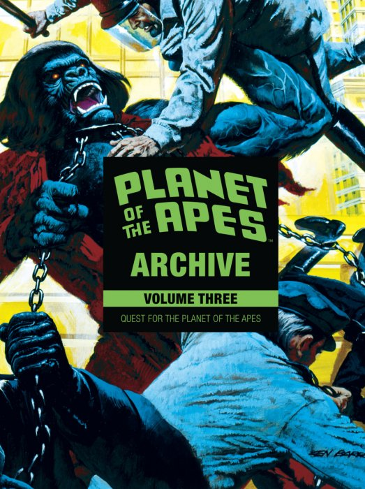 Planet of the Apes Archive Vol.3 - Quest for the Planet of the Apes