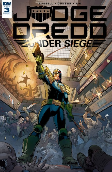 Judge Dredd - Under Siege #3