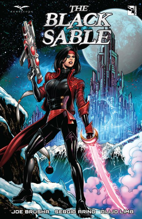 The Black Sable #1 - TPB