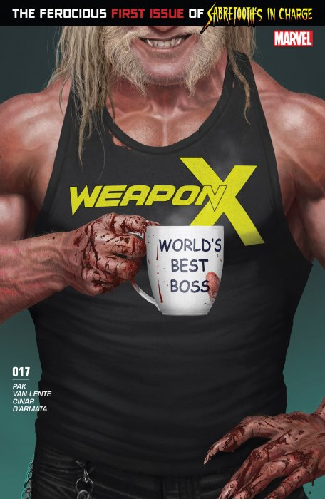 Weapon X #17