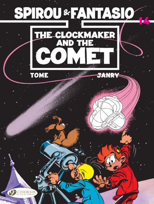 Spirou & Fantasio #14 - The Clockmaker and the Comet