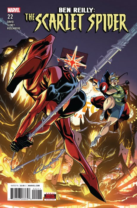 Ben Reilly - Scarlet Spider #22