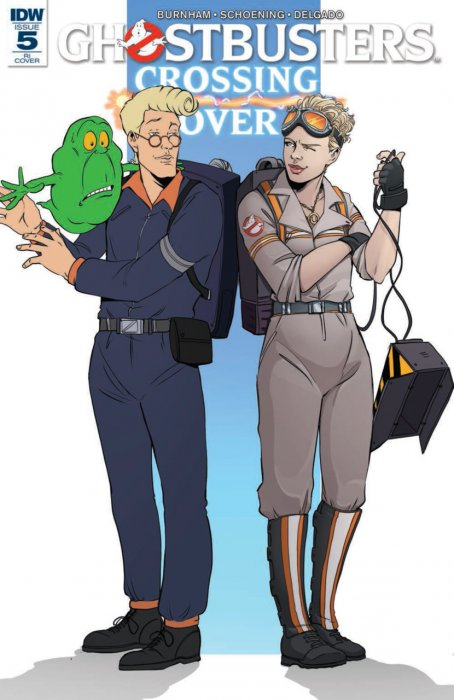 Ghostbusters - Crossing Over #5