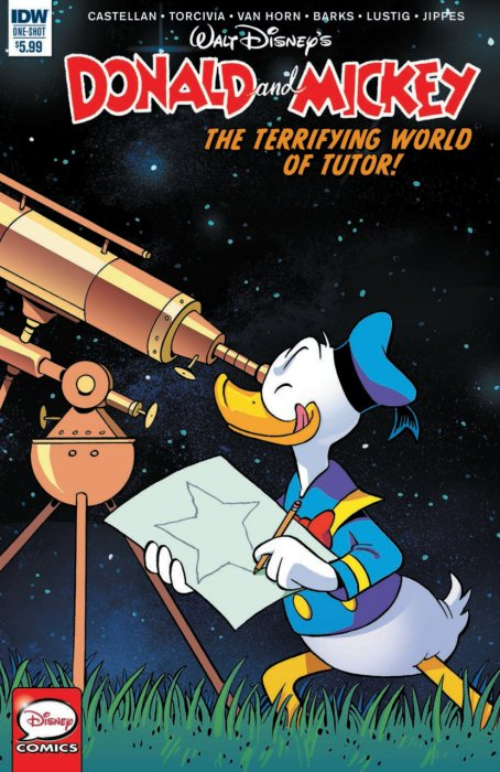 Donald and Mickey Quarterly #4