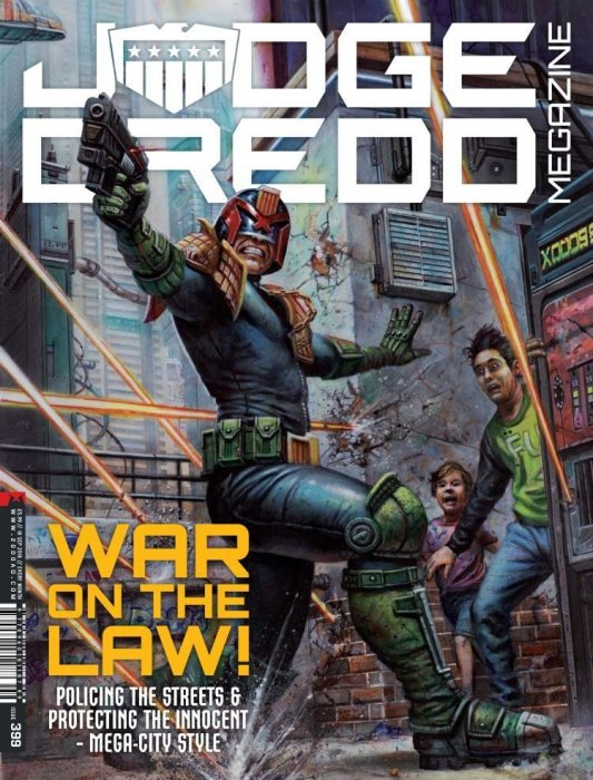 Judge Dredd The Megazine #399
