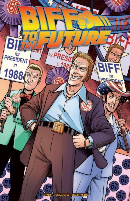 Back to the Future - Biff to the Future #1 - TPB