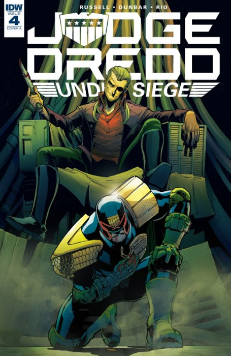 Judge Dredd - Under Siege #4