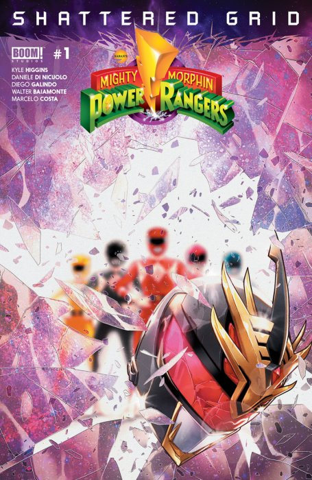Mighty Morphin Power Rangers - Shattered Grid #1