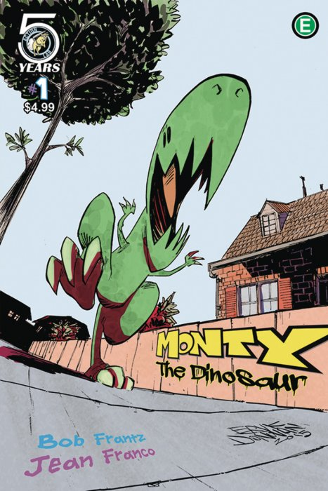 Monty the Dinosaur #1-3 Complete