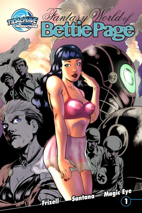Fantasy World of Bettie Page #1-3 Complete