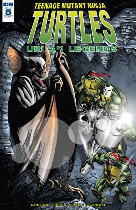 Teenage Mutant Ninja Turtles - Urban Legends #5