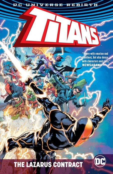 Titans - The Lazarus Contract #1 - HC/TPB