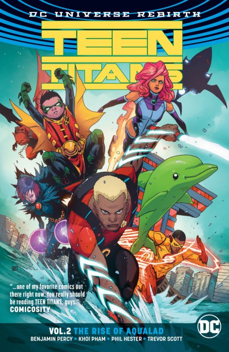 Teen Titans Vol.2 - The Rise of Aqualad
