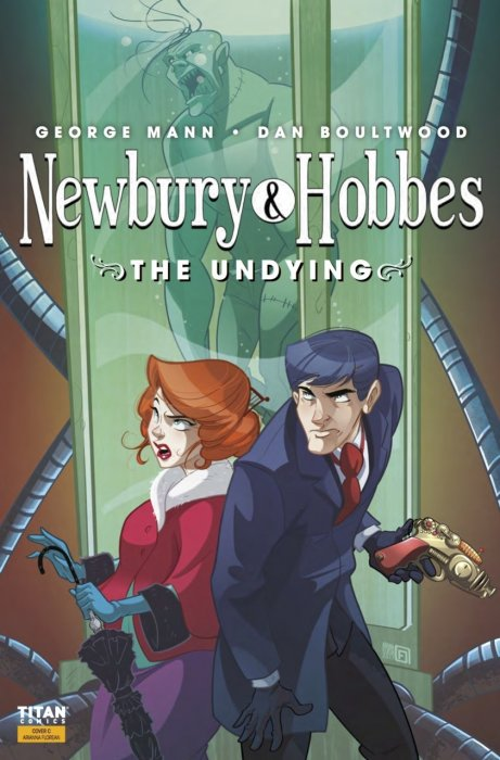 Newbury & Hobbes #1 - The Undying