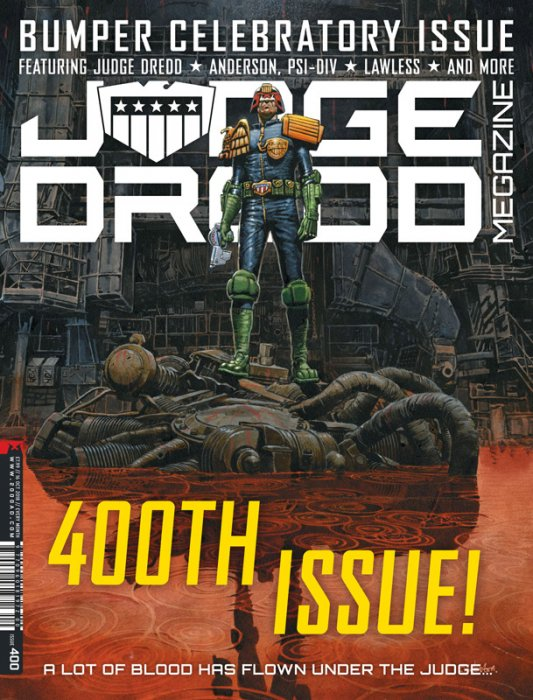 Judge Dredd The Megazine #400
