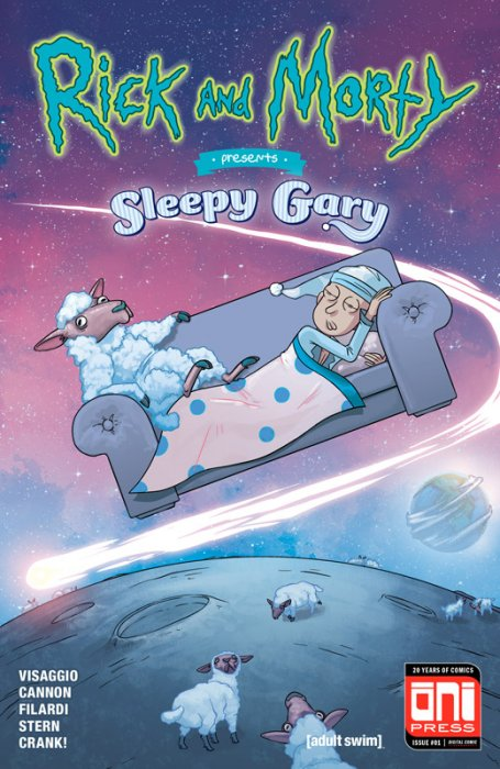 Rick and Morty Presents #3 - Sleepy Gary