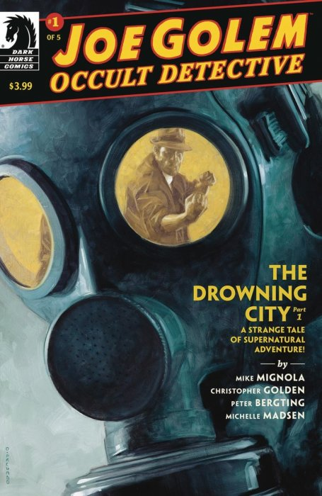 Joe Golem - Occult Detective--The Drowning City #1