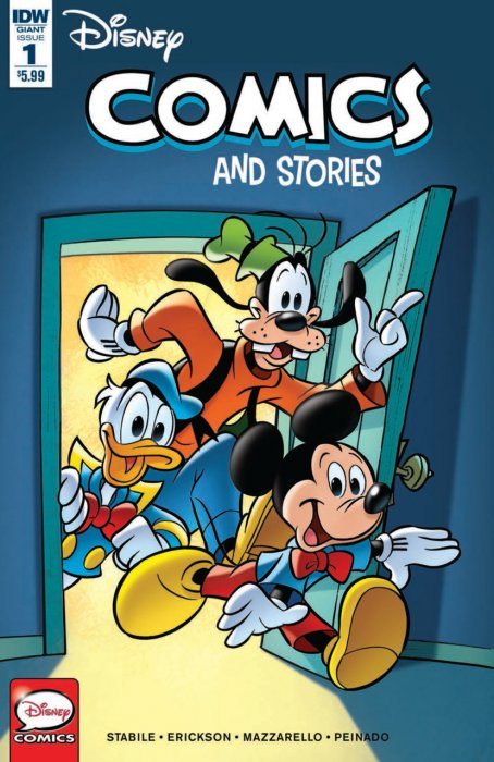 Disney Comics and Stories #1