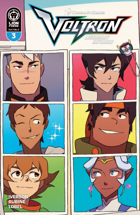 Voltron - Legendary Defender Vol.3 #3