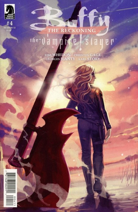 Buffy The Vampire Slayer Season 12 #4 - The Reckoning