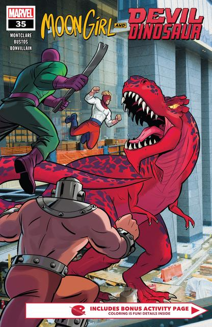 Moon Girl and Devil Dinosaur #35