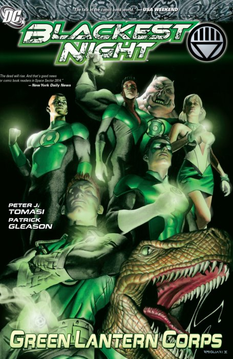 Blackest Night - Green Lantern Corps #1 - TPB