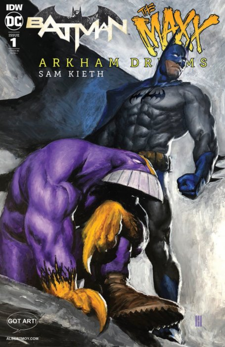 Batman - The Maxx - Arkham Dreams #1