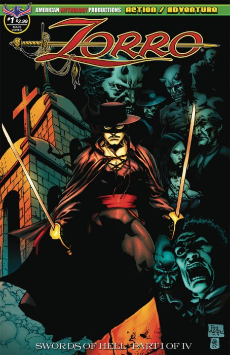 Zorro - Swords of Hell #1