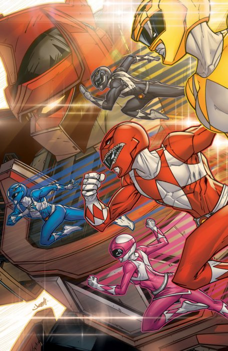 Saban's Go Go Power Rangers - Back to School #1