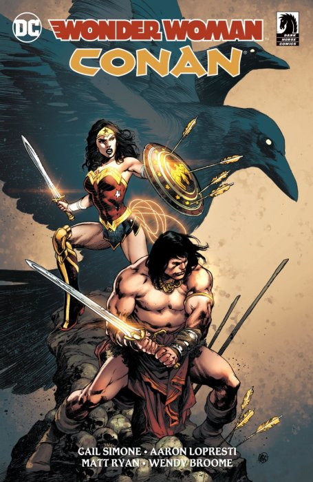 Wonder Woman - Conan #1 - HC