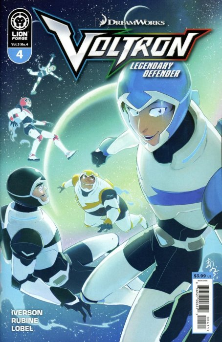 Voltron - Legendary Defender Vol.3 #4