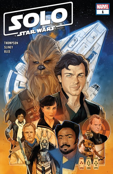 Solo - A Star Wars Story Adaptation #1