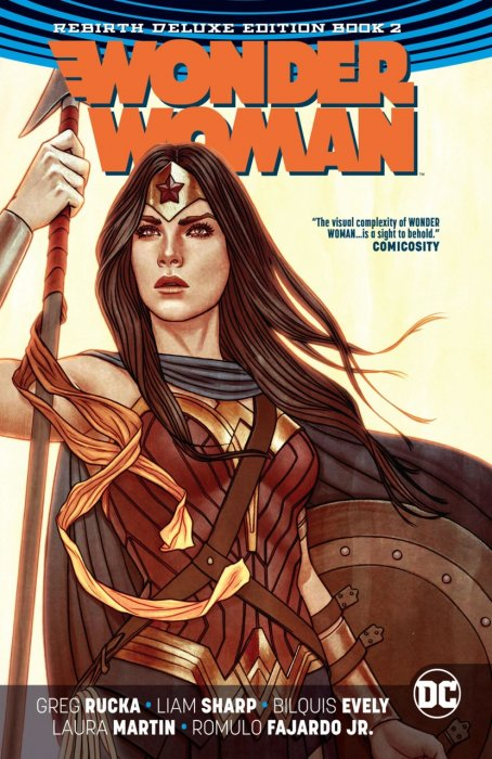 Wonder Woman - Rebirth Deluxe Edition Book 2