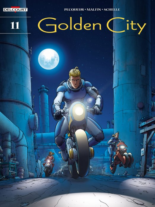 Golden City #11 - The Fugitives