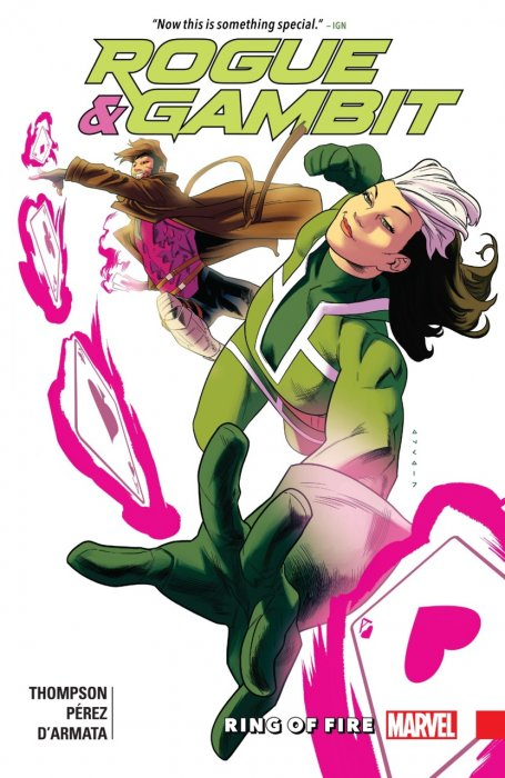 Rogue & Gambit - Ring Of Fire #1 - TPB