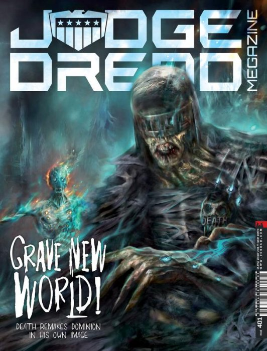 Judge Dredd The Megazine #401