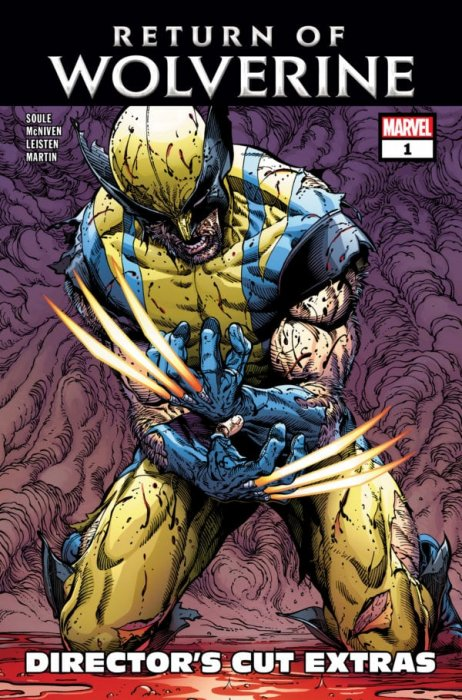 Return of Wolverine #1 - Director's Cut Edition