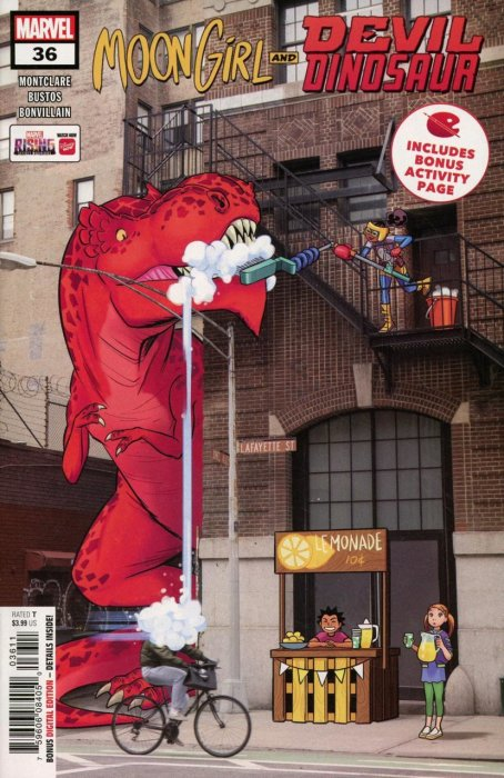 Moon Girl and Devil Dinosaur #36