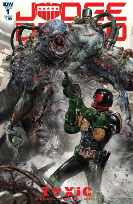 Judge Dredd - Toxic #1