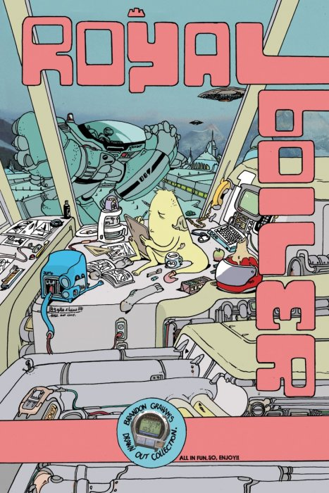 Royalboiler - Brandon Graham's Drawn Out Collection #1 - SC