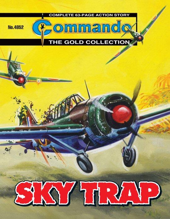 Commando #4852-4898 Complete