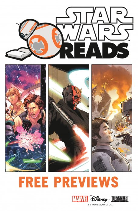Star Wars Reads 2018 Free Previews #1