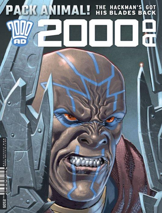 2000AD #2105