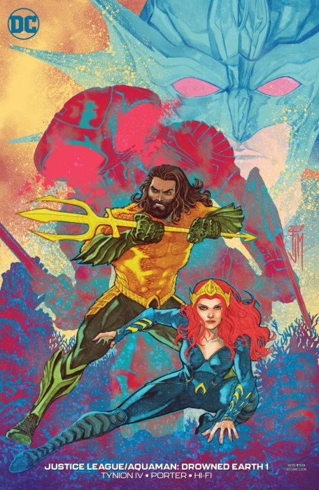 Justice League - Aquaman - Drowned Earth #1
