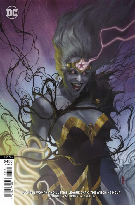 Justice League Dark and Wonder Woman - The Witching Hour #1