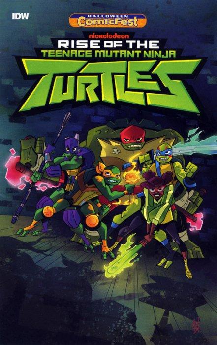Rise of the Teenage Mutant Ninja Turtles - Halloween ComicFest #1