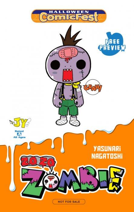 Zo Zo Zombie-Kun - Halloween ComicFest #1