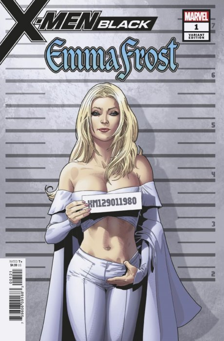 X-Men Black - Emma Frost #1