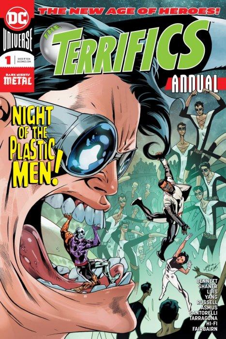 The Terrifics Annual #1